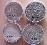 Кварцевый песок для пескоструя