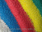 Цветные мраморные и кварцевые пески