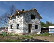 Стройтельство домов под ключ ремонт квартир под ключ баня и частично
