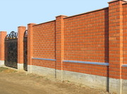 Заборы из кирпича в Жезказгане