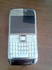 Nokia E71 White белый,  флэшка 2GB,  все установлена